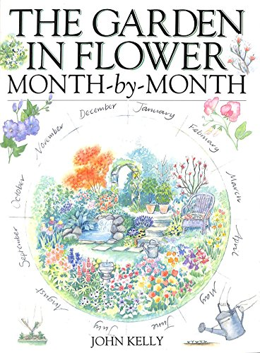 9780715300763: The Garden in Flower Month-By-Month