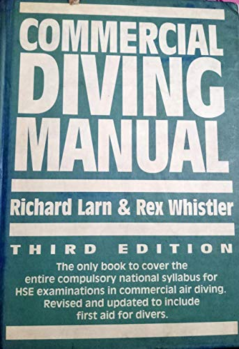 9780715301005: Commercial Diving Manual