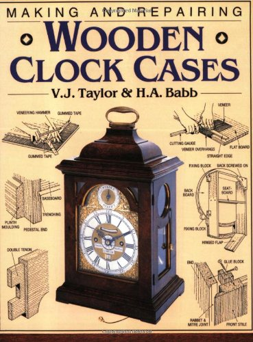 9780715302866: Making and Repairing Wooden Clock Cases