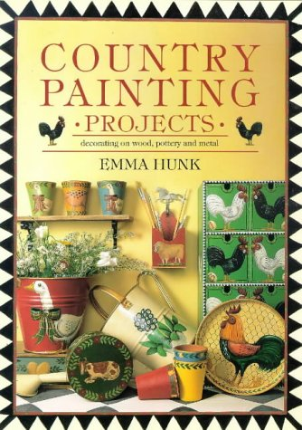 9780715303429: Country Painting Projects: Decorating on Wood, Pottery and Metal