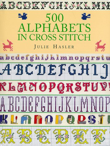 9780715306109: 500 Alphabets in Cross Stitch