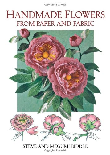 9780715309858: Handmade Flowers from Paper and Fabric (A David & Charles Craft Book)