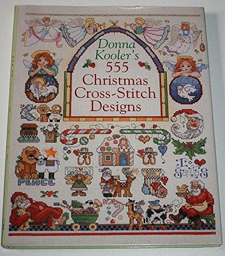 9780715310182: Donna Kooler's 555 Christmas Cross-stitch Designs