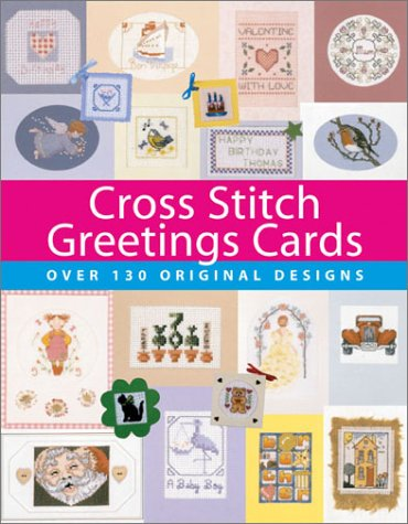 Cross Stitch Greetings Cards: Julie Cook, Sue
