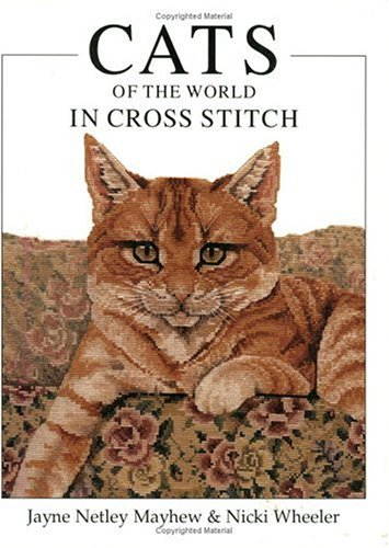 9780715313039: Cats of the World in Cross Stitch (Crafts)