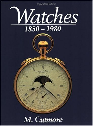 9780715314616: Watches 1850-1980