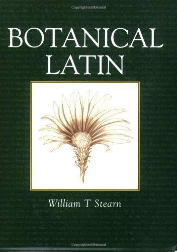 9780715316436: Botanical Latin: History, Grammar, Syntax, Terminology and Vocabulary