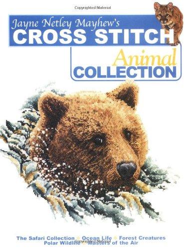 9780715320310: Jane Netley Mayhew's Cross Stitch Animal Collection