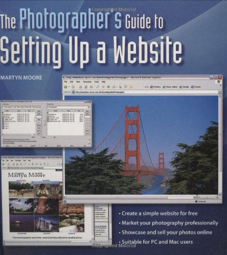 9780715320921: The Photographer's Guide to Setting Up a Website