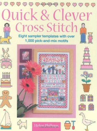 9780715321744: Quick & Clever Cross Stitch