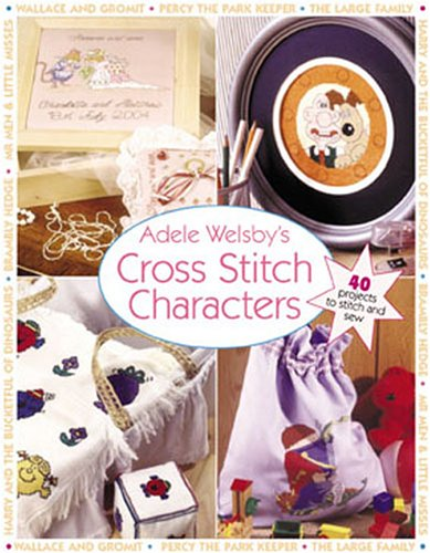 9780715322031: Adele Welsby's Cross Stitch Characters