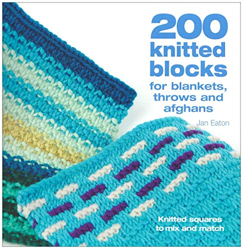9780715322352: 200 Knitted Blocks: For Afghans, Blankets and Throws