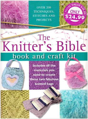 9780715323663: The Knitter's Bible: Book and Craft Kit