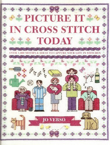 9780715326992: Picture it in cross stitch today