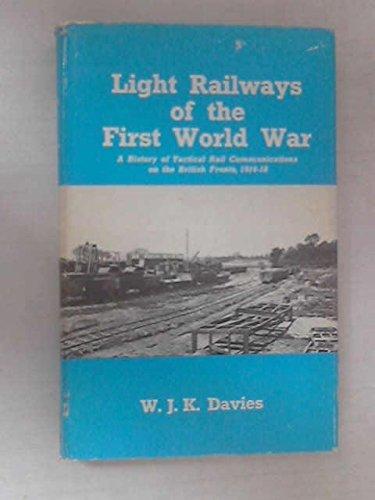 9780715341087: Light Railways of the First World War