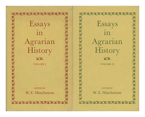 Essays in Agrarian History: v. 1: W. E. Minchinton,