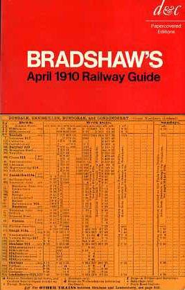 9780715342466: Bradshaw's Railway Guide: April 1910
