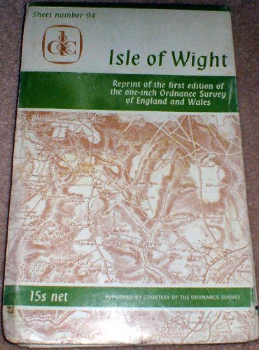 Sheet 94: Isle of Wight: One-inch Ordnance Survey of England & Wales (1840s)