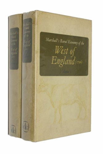 9780715347638: Rural Economy of the West of England