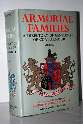 9780715347652: Armorial Families: v. 1