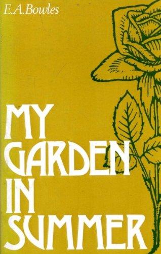 9780715357088: My garden in summer