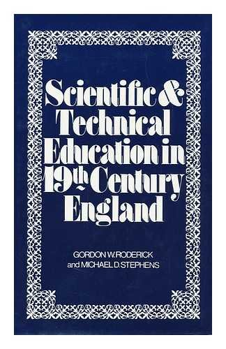 Scientific & Technical Education in 19th Century England