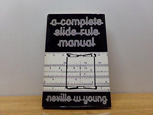9780715360927: Complete Slide Rule Manual