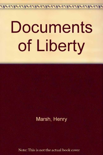 9780715361443: Documents of Liberty