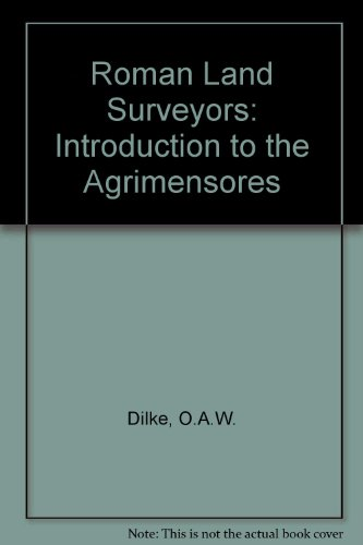9780715361481: Roman Land Surveyors: Introduction to the Agrimensores
