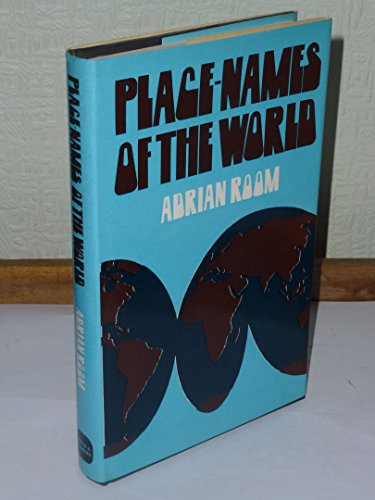 9780715363904 Place Names Of The World Abebooks Adrian Room