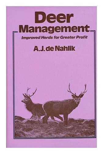 9780715365489: Deer Management: Improved Herds for Greater Profit