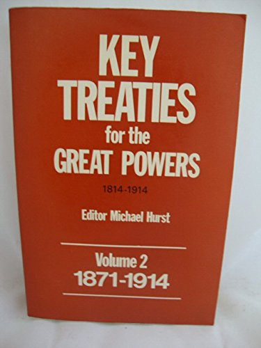 Key Treaties for the Great Powers, 1814-1914: Non Stated