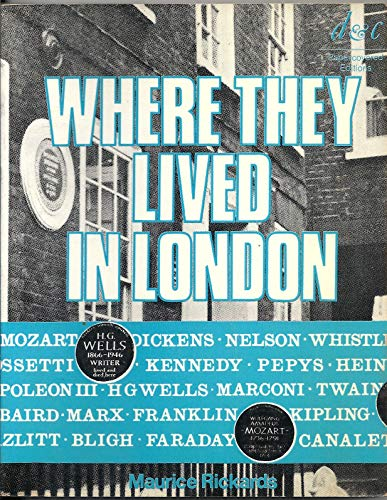 9780715366172: Where They Lived in London