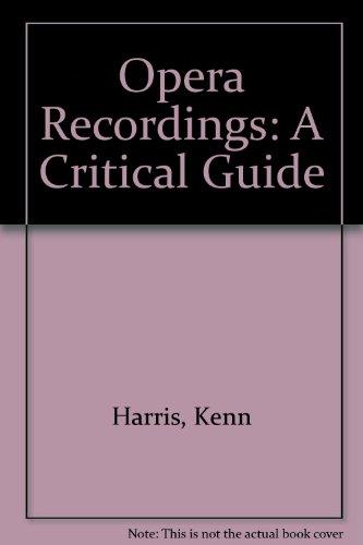 9780715369890: Opera Recordings: A Critical Guide