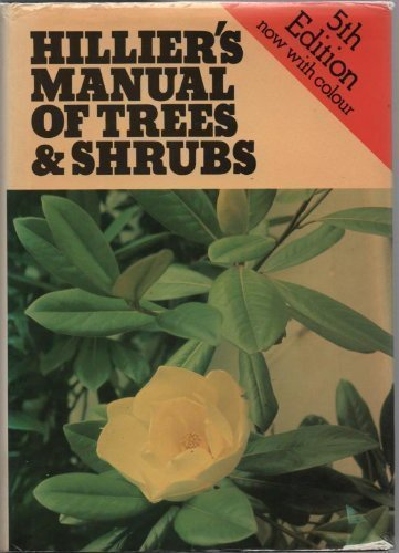 9780715383025: Hilliers' Manual of Trees and Shrubs