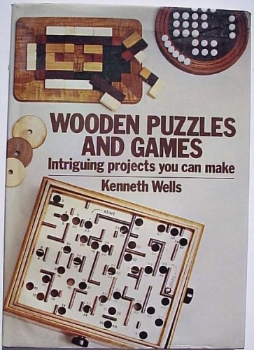 9780715384954: Wooden Puzzles and Games