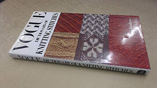 9780715386156: Vogue Dictionary of knitting Stitches