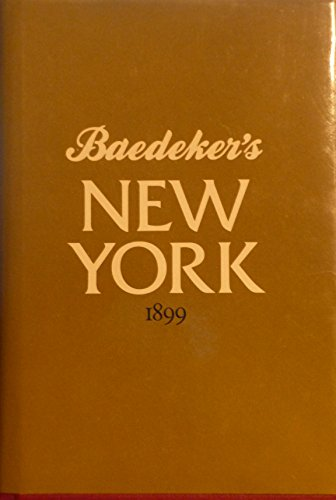 9780715387078: Baedeker's New York 1899
