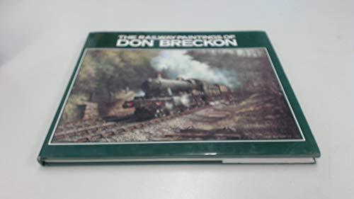 9780715390788: Railway Paintings of Don Breckon