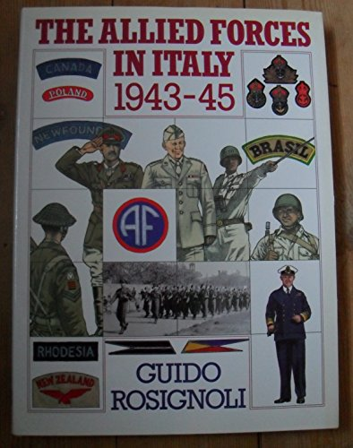 9780715392126: The Allied Forces in Italy 1943-45