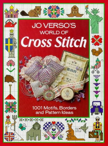 9780715399491: Jo Verso's World of Cross Stitch: 1001 Motifs, Borders and Pattern Ideas