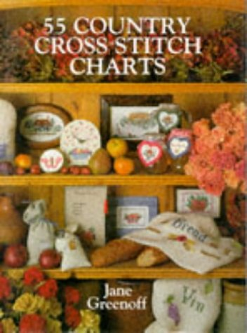 55 Country Cross Stitch Charts