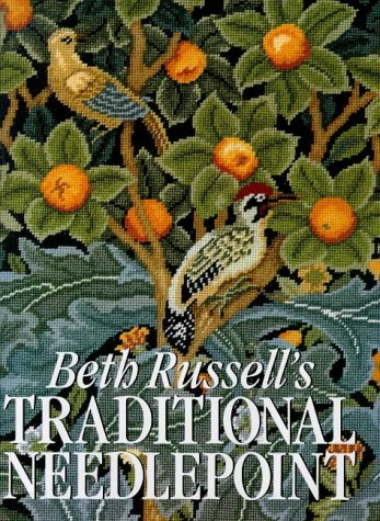 Beth Russell's traditional needlepoint: Beth; photography by John Greenwood Russell