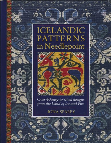 9780715399880: Icelandic Patterns in Needlepoint: Over 40 Easy-To-Stitch Designs from the Land of Ice and Fire