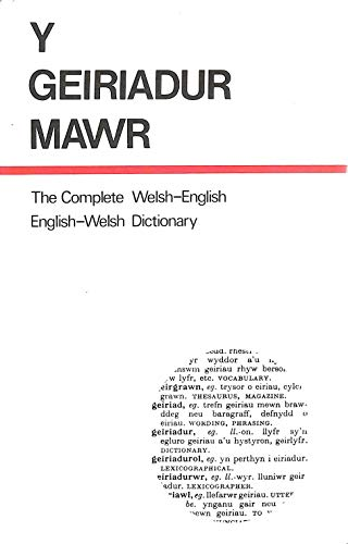 9780715403549: Y geiriadur mowr: The complete Welsh-English, English-Welsh dictionary