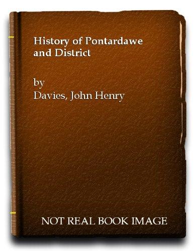9780715403822: History of Pontardawe and District