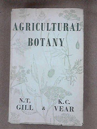 9780715600047: AGRICULTURAL BOTANY