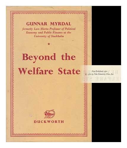 9780715600252: Beyond the Welfare State; Economic Planning and Its International Implications