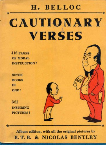9780715600474: Cautionary Verses