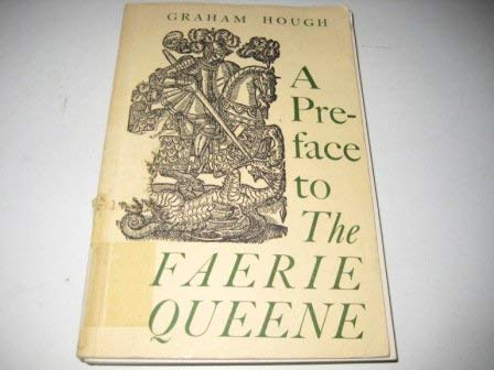 """9780715602706: A Preface to the """"Faerie Queene"""""""